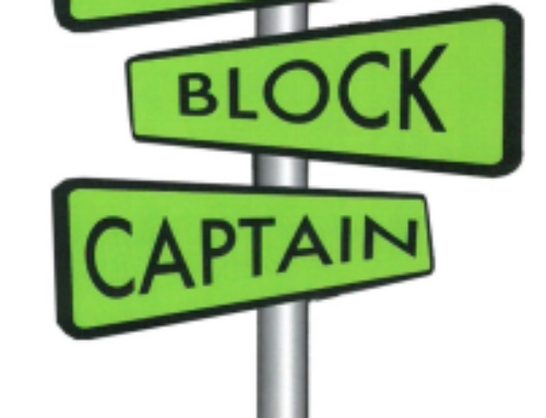 PHCA to Reintroduce Block Captain Program