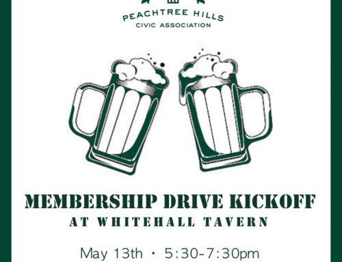 Membership Drive Kickoff @ Whitehall Tavern