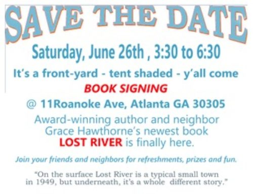 Book Signing with Grace Hawthorne
